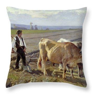 The Furrow Throw Pillow