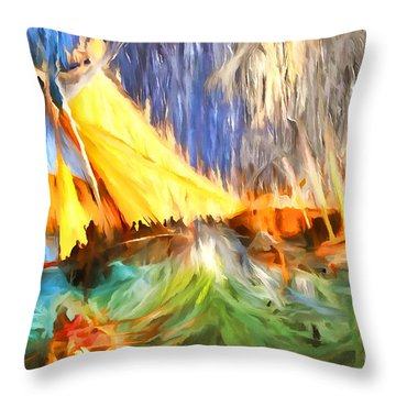 The Fury Throw Pillow