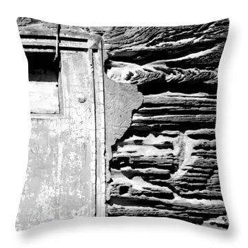 The Future - There Is A Crack In Everything Throw Pillow by VIVA Anderson