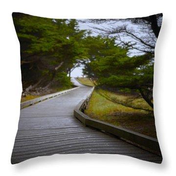 Desparation Throw Pillows