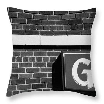 The G Spot Throw Pillow