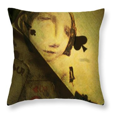 Throw Pillow featuring the digital art The Game by Delight Worthyn