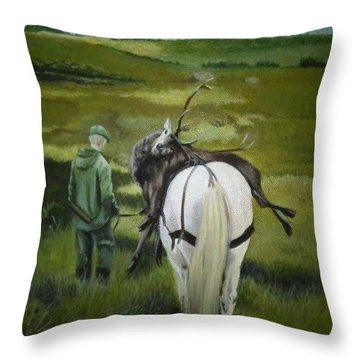 The Gamekeeper Throw Pillow
