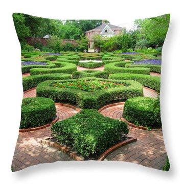 The Garden 5 Throw Pillow
