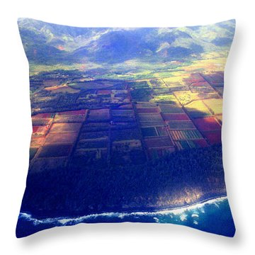 The Garden Isle Throw Pillow by Kevin Smith