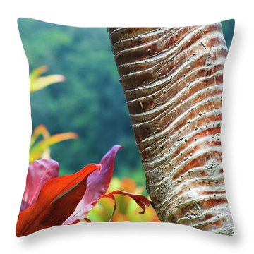The Garden Of Love Throw Pillow by Sharon Mau