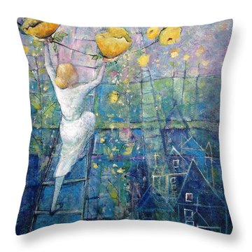 The Garden Party Throw Pillow