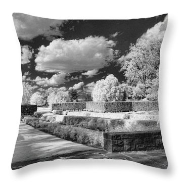 The Gardens In Ir Throw Pillow by Michael McGowan