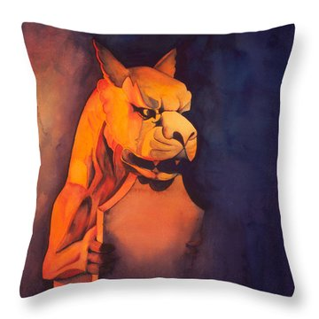 The Gardian Throw Pillow