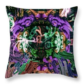 The Gate 2 Throw Pillow