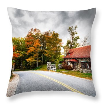 The Gate Keeper Throw Pillow by Robert Clifford