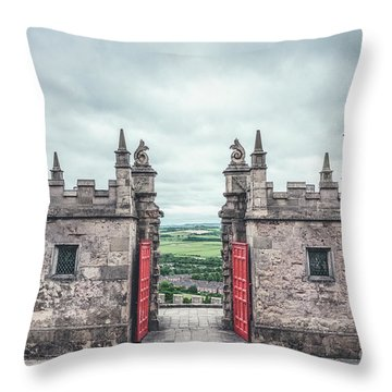 The Gate Of Evermore Throw Pillow