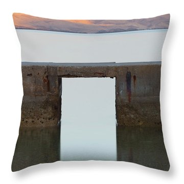 The Gate Of Freedom Throw Pillow