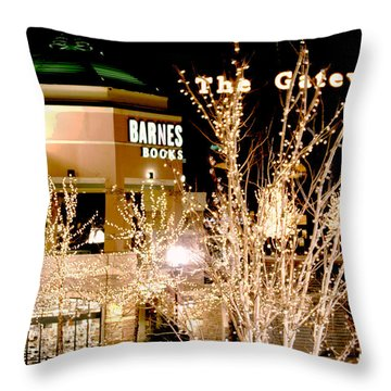 The Gateway Mall Throw Pillow