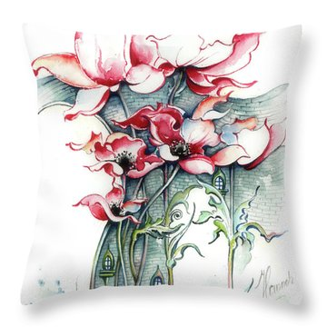 The Gateway To Imagination Throw Pillow