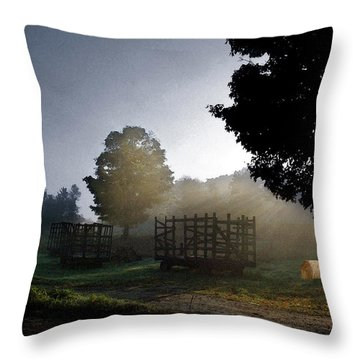 The Gathering Day Throw Pillow