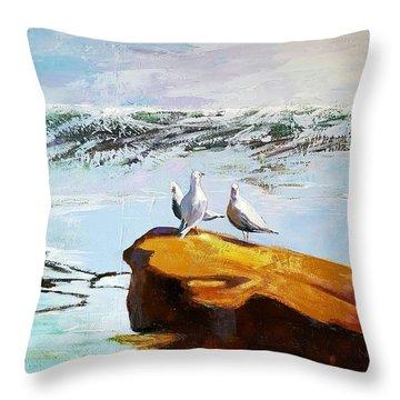 The Gathering Throw Pillow