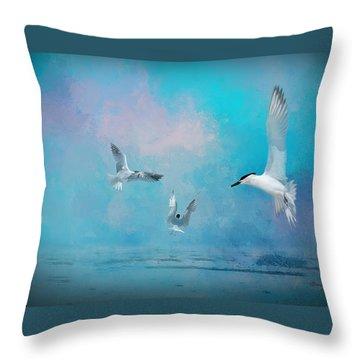 Tern Throw Pillows