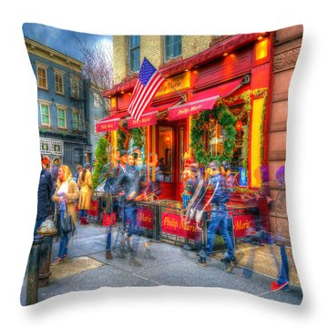 The Gathering Spot Throw Pillow