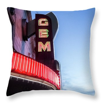 The Gem Throw Pillow