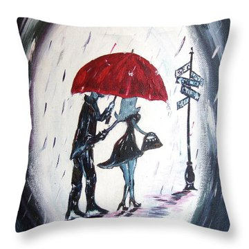 The Gentleman Throw Pillow by Roxy Rich