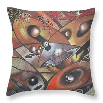 The Geometer Throw Pillow