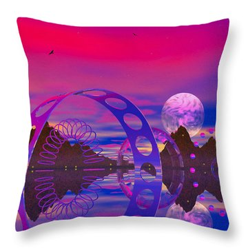 Throw Pillow featuring the photograph The Gergst Of Fergst by Mark Blauhoefer