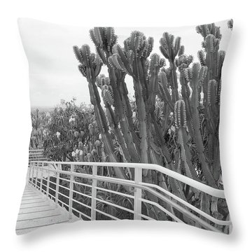 The Getty Throw Pillow