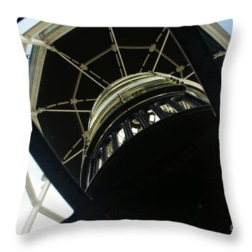 The Ghost Within Throw Pillow by Linda Shafer