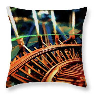 The Giant Dipper Throw Pillow