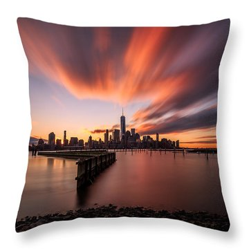 The Gift  Throw Pillow