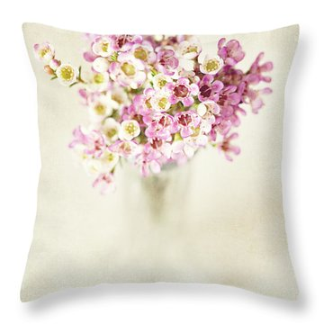 The Gift Throw Pillow by Lisa Russo