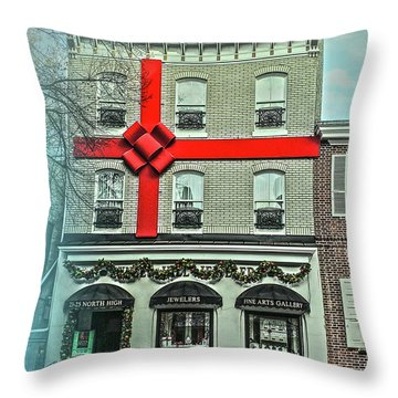 The Gift Of Jewelry And Art Throw Pillow