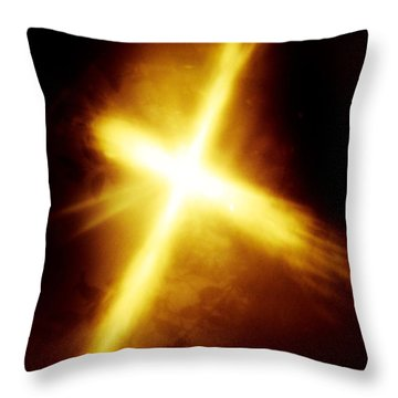 The Gift Throw Pillow by Robin Coaker