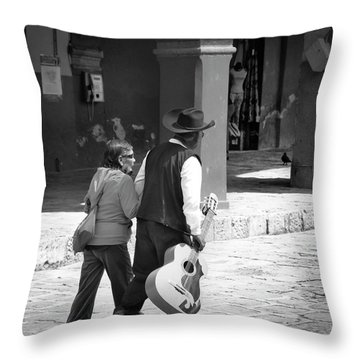 The Gig Is Over Throw Pillow