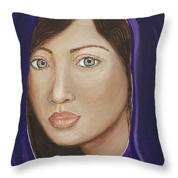 The Giver Throw Pillow by JoDee Luna