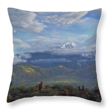 The Giver Of Life Throw Pillow