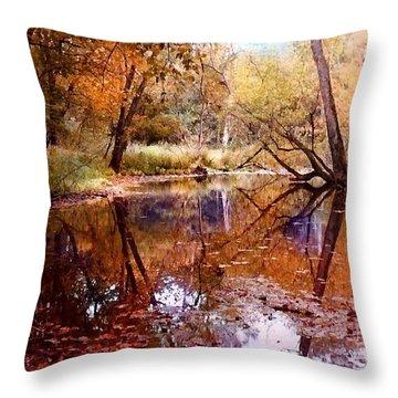 The Glade Throw Pillow