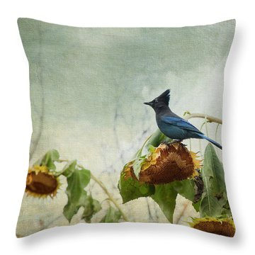 The Gleaner Throw Pillow