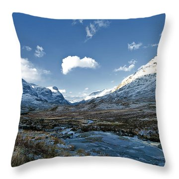 The Glen Of Weeping Throw Pillow