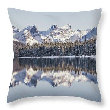 The Glorious Land Throw Pillow