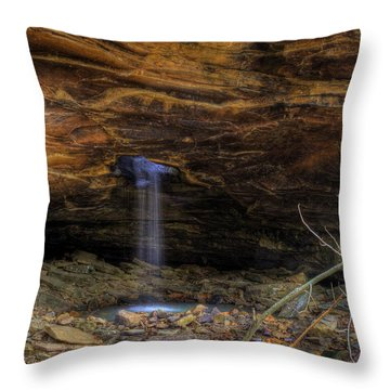 The Glory Hole Throw Pillow