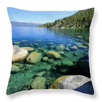 Throw Pillow featuring the photograph The Glory Of Morning by Sean Sarsfield