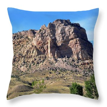 The Glory Of Wyoming Throw Pillow