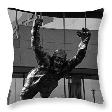 The Goal Throw Pillow