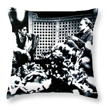The Godfather Throw Pillow