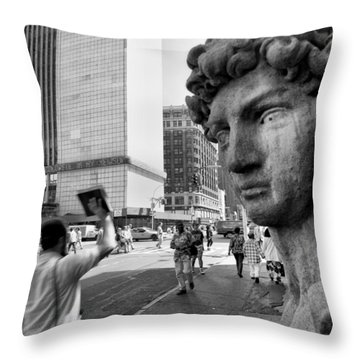 The Gods Throw Pillow