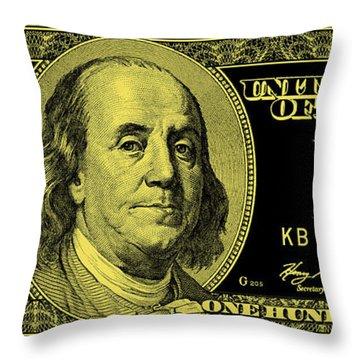 The Gold Standard Throw Pillow