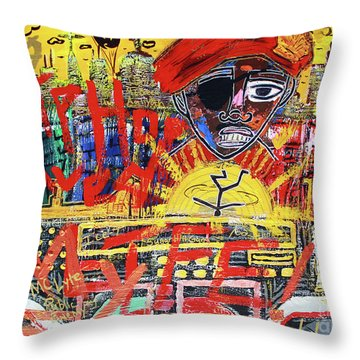 The Golden Era Throw Pillow