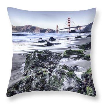 The Golden Gate Bridge Throw Pillow